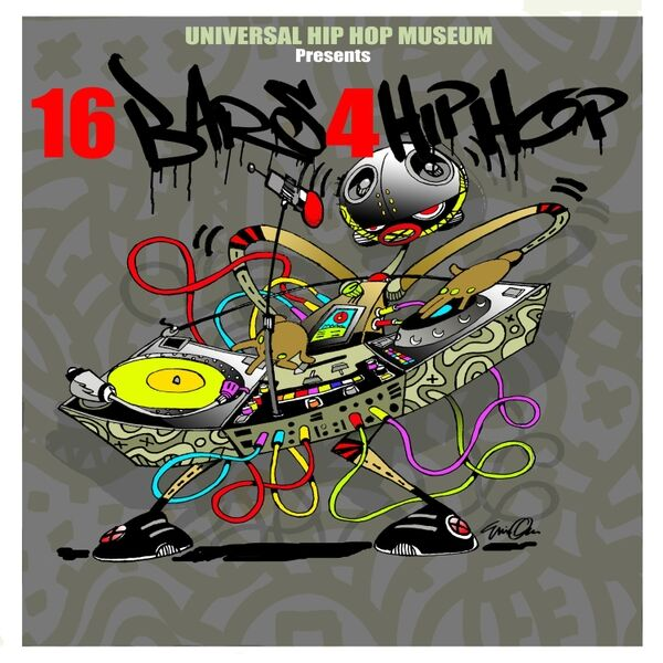 Cover art for 16 Bars 4 Hip Hop