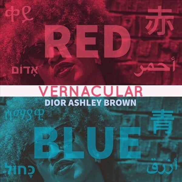 Cover art for Vernacular: Red / Blue