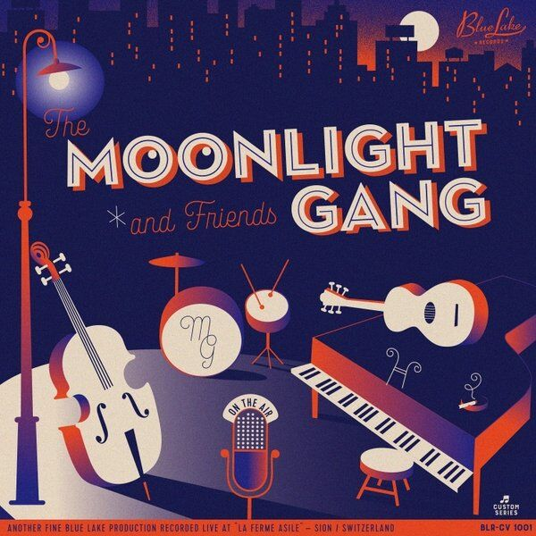 Cover art for The Moonlight Gang and Friends