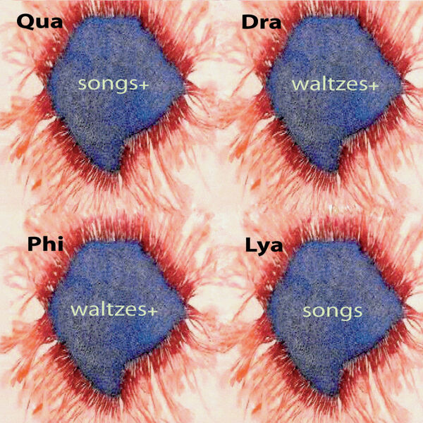 Cover art for Quadraphilya: Songs+ Waltzes+ Waltzes+ Songs