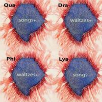Quadraphilya: Songs+ Waltzes+ Waltzes+ Songs
