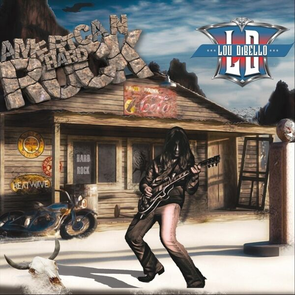 Cover art for American Hard Rock