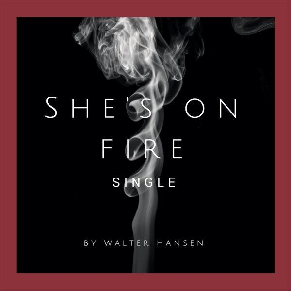 Cover art for She's on Fire